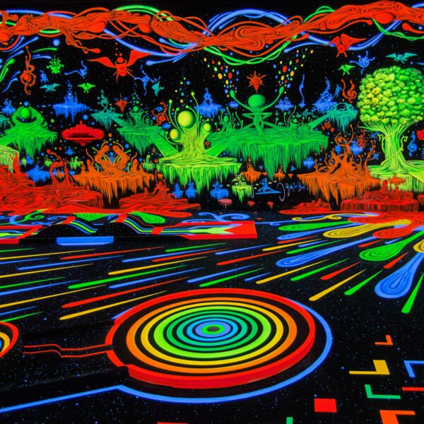 Blacklight Minigolf