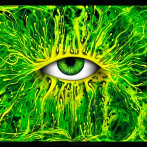 Liquid Eye - Art Print