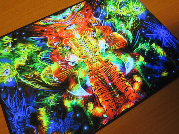 Ganapati UV Print on Wood