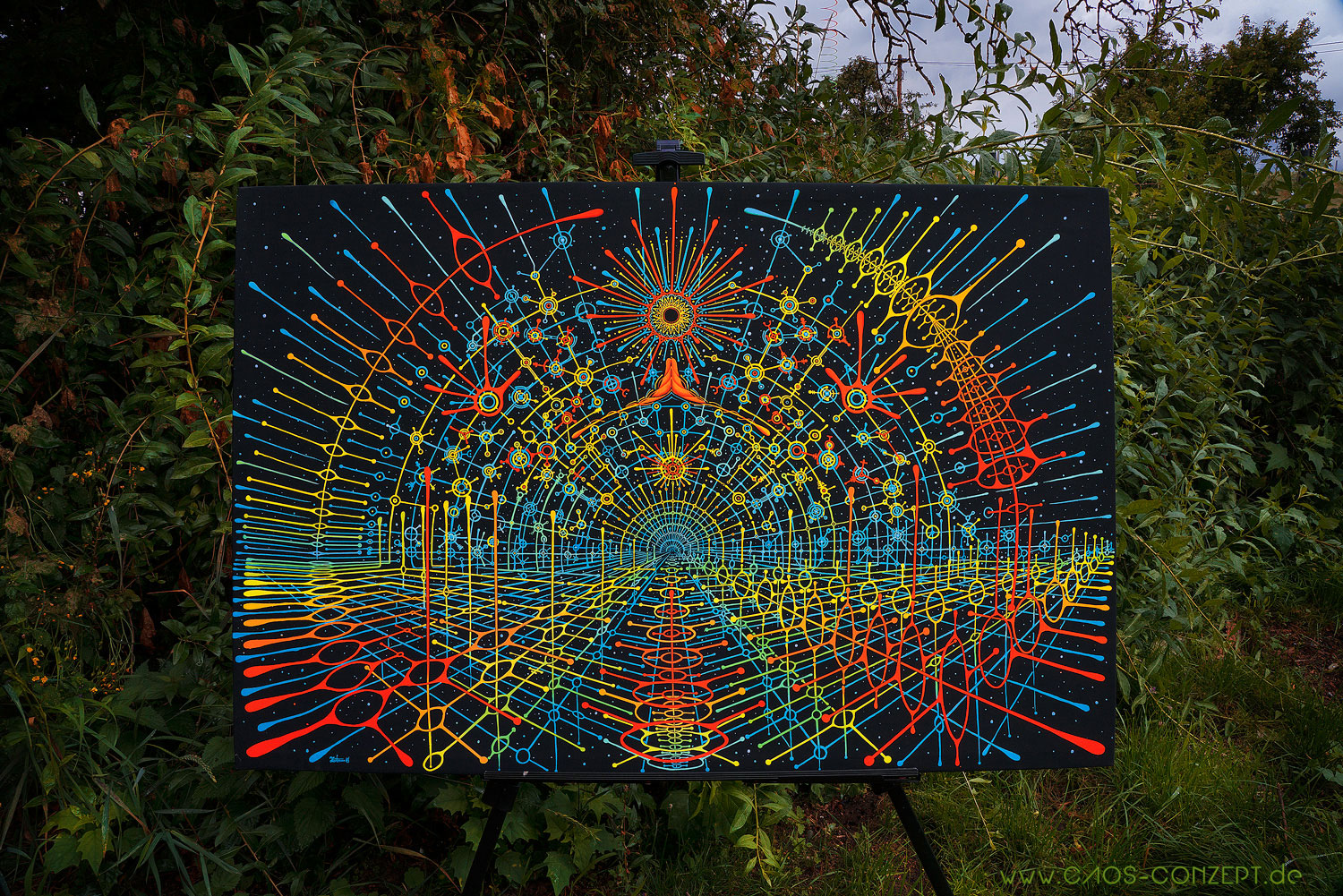 DMT Airport on Frame