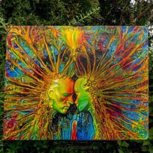Infinite Love on Canvas